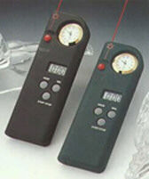 Speaker Laser Pointer With Clock - Black Rubber - 650 nM